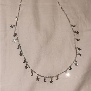 Vsco Star and Moon Necklace